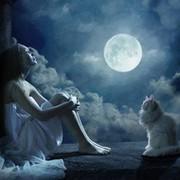 moon light on My World.